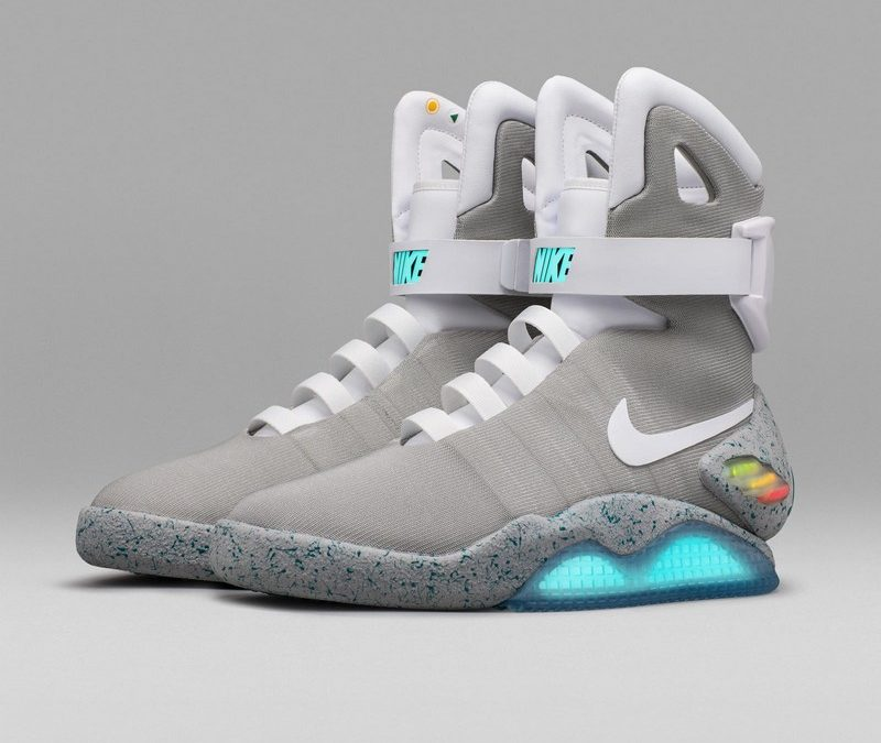 free delivery size 40 on feet shots of ➽ Nike MAG hat den ersten selbstschnürenden Schuh ...